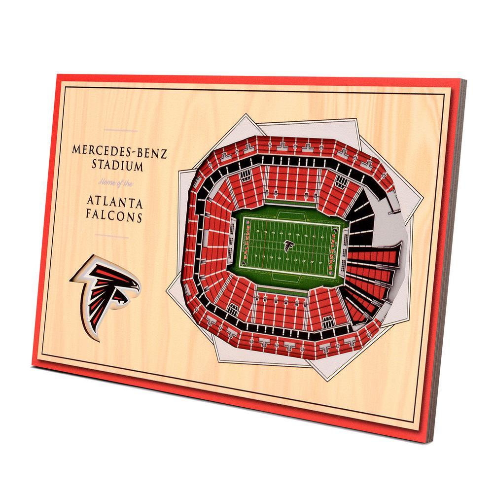 6dcb605d YouTheFan NFL Atlanta Falcons 3D StadiumViews Desktop Display ...