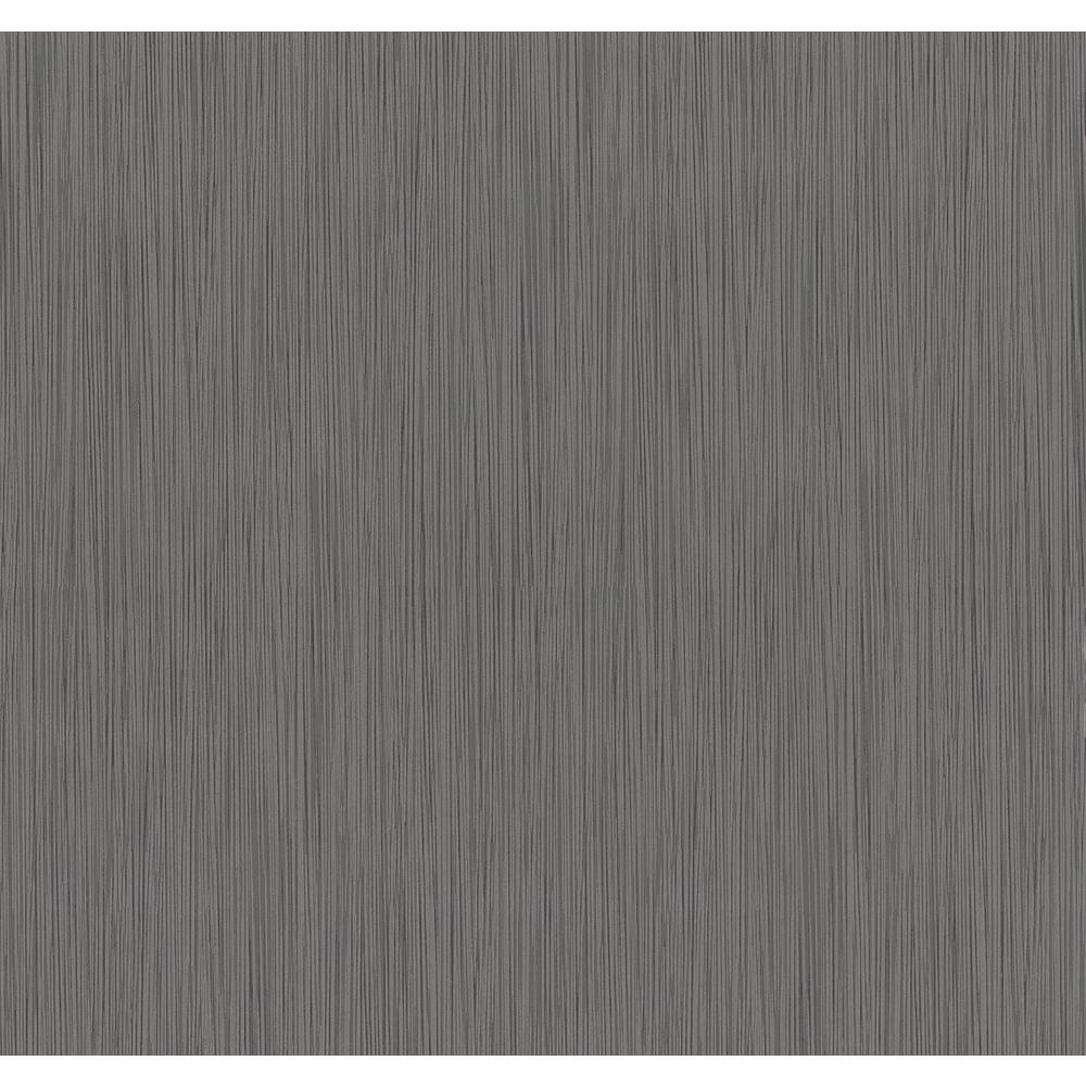 Advantage 56.4 sq. ft. Ellington Taupe Horizontal Striped Texture Wallpaper