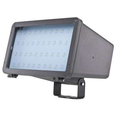 ProLED 75-Watt Bronze Outdoor Integrated LED Large Landscape Flood Light Fixture