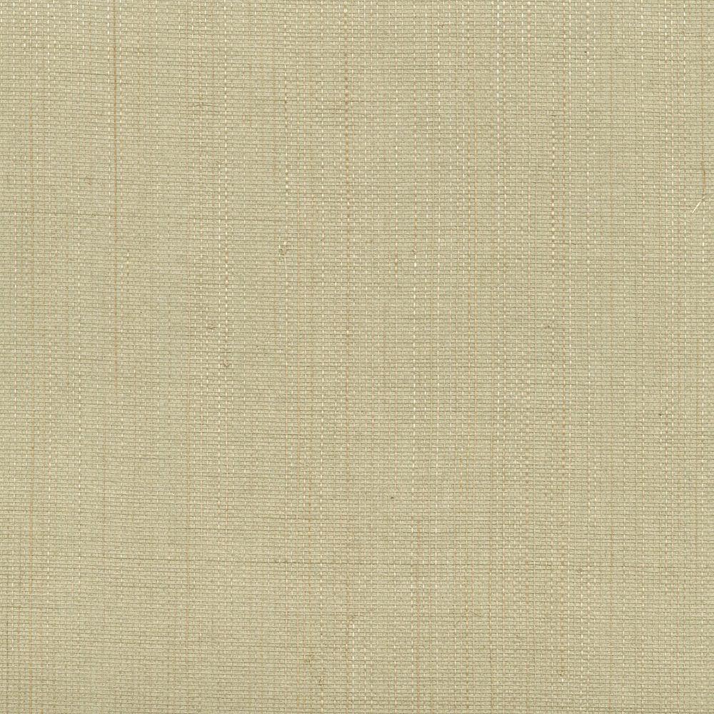 Grasscloth Wallpaper Samples: Kenneth James Valeria Light Grey Grasscloth Wallpaper