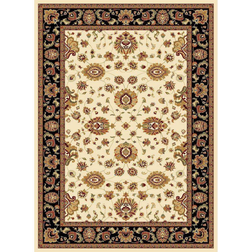 Williams Collection Sultan Ivory 7 ft. 10 in. x 10 ft.