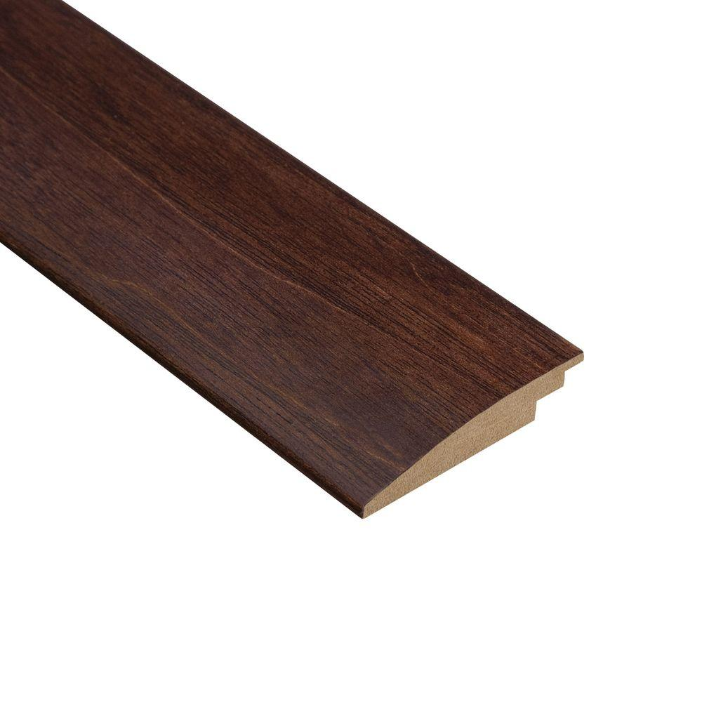 Home Legend Moroccan Walnut 3/8 in. Thick x 2 in. Wide x 47 in. Length Hardwood Hard Surface Reducer Molding