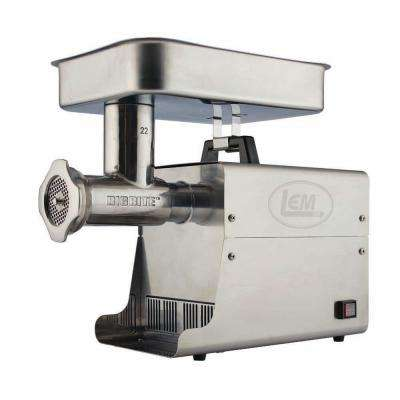 #22 1 HP SS Big Bite Meat Grinder