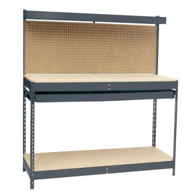 48 in. W x 24 in. D Workbench with Storage
