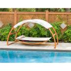 Patio Swing Bed with Canopy