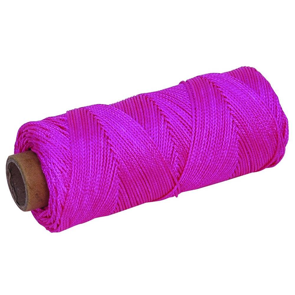 Marshalltown 500 ft. Florescent Pink Braided Mason's Line
