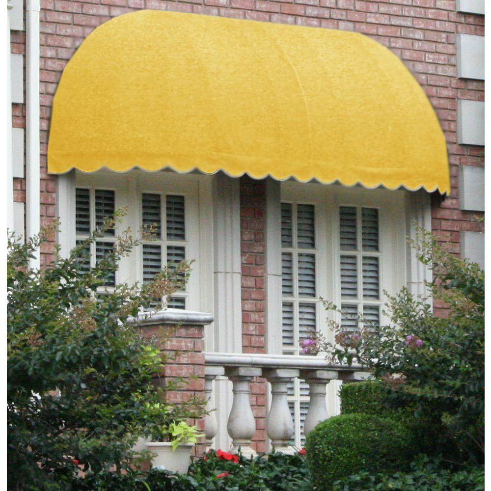 AWNTECH 14 ft. Chicago Window/Entry Awning (31 in. H x 24 in. D) in Light Yellow