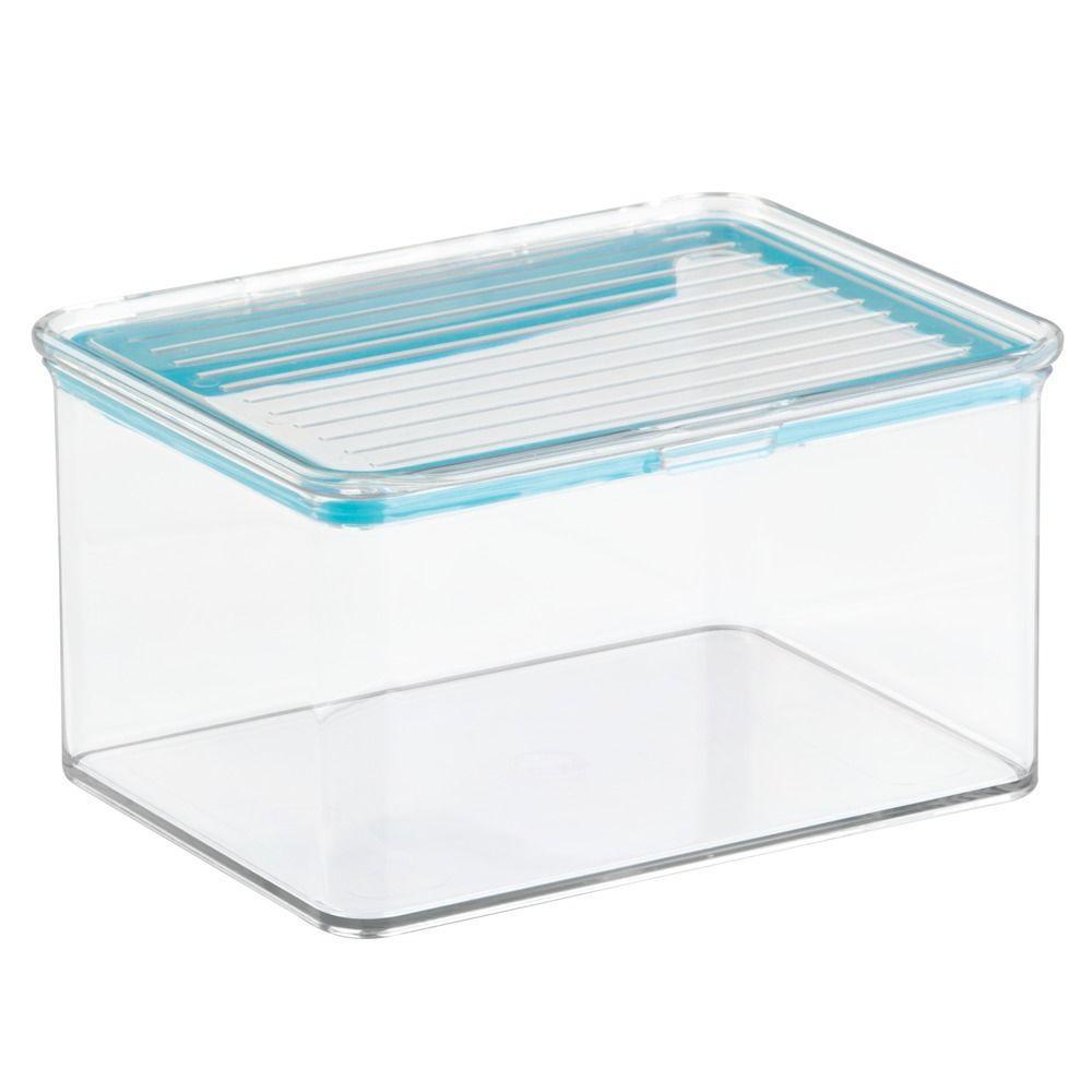 InterDesign Kitchen Binz Box With Sealed Lid, 1.5 Qt. In Clear
