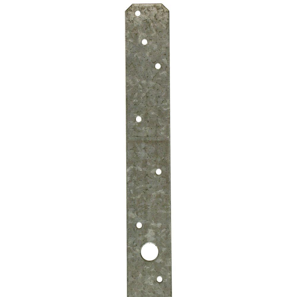 MSTA 36 in. 16-Gauge ZMAX Galvanized Medium Strap Tie