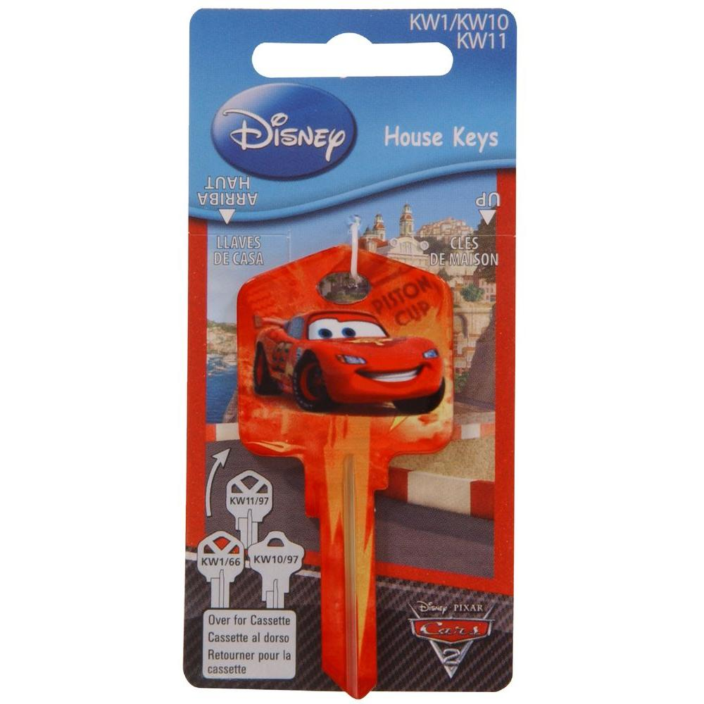 The Hillman Group Disney Cars Lightning Mcqueen House Key