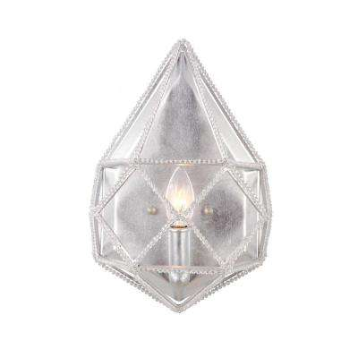 Marquise Silver Wall Sconce