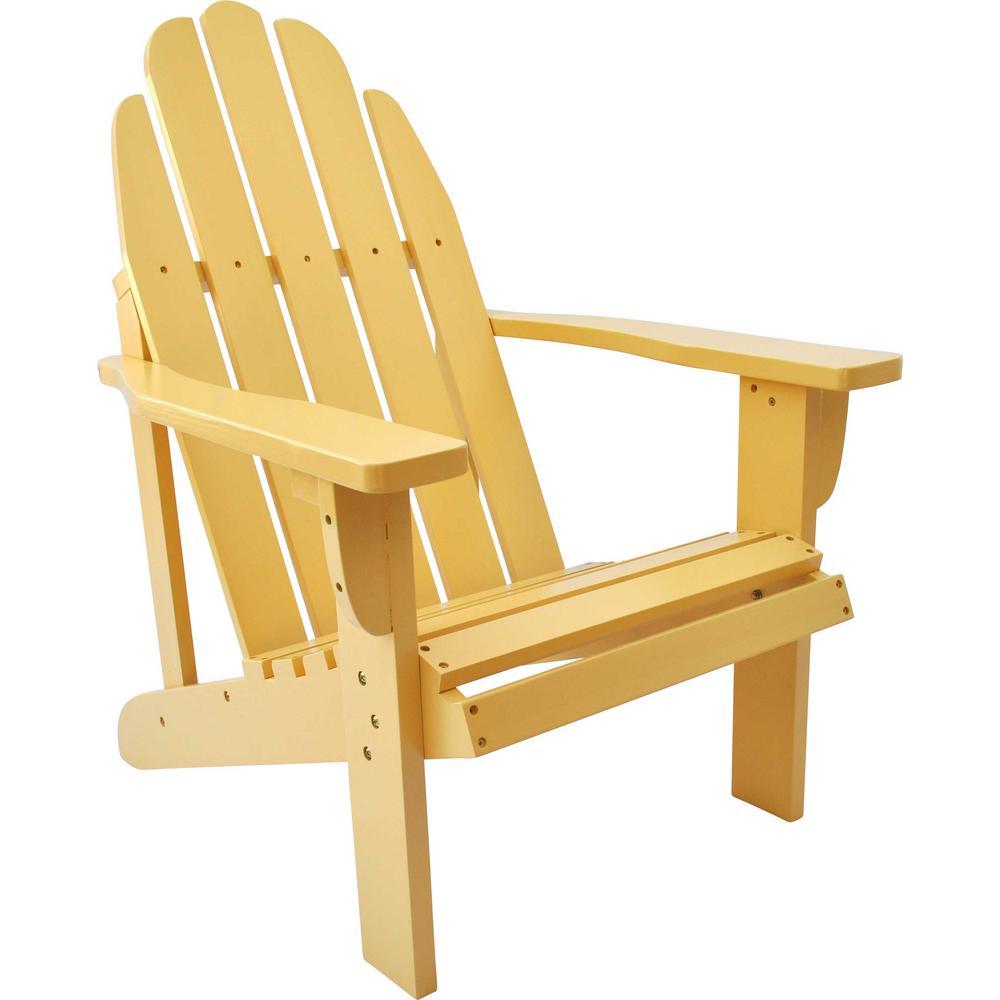 Catalina Bee\'s Wax Cedar Wood Adirondack Chair