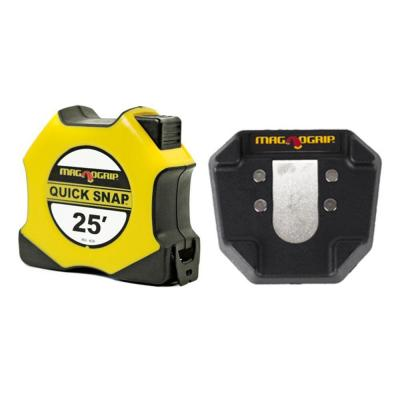 25 ft. Quick Snap Magnetic Tape Measure