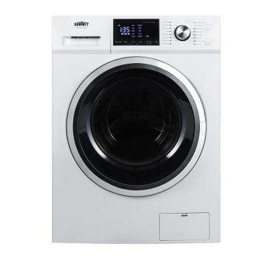 2.7 cu. ft. All-in-One Washer and Electric Ventless Dryer in White