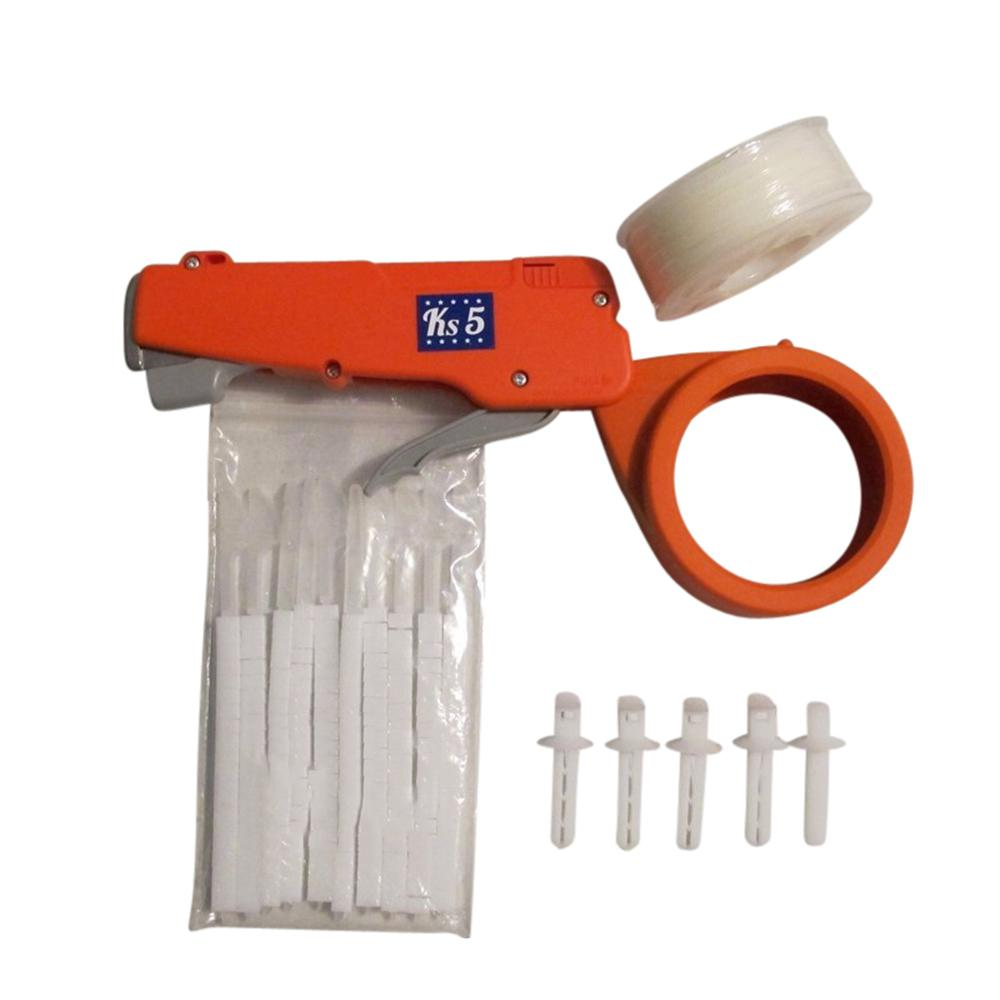 Zip Tie Gun >> Cable Tie Gun Complete Kit In White 510w The Home Depot