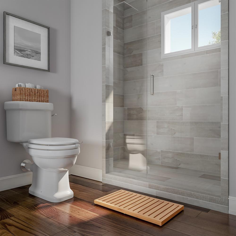 Bamboo Slatted Bathroom Mat