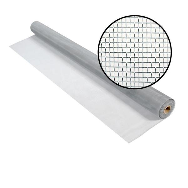 72 in. x 50 ft. Brite Aluminum Screen