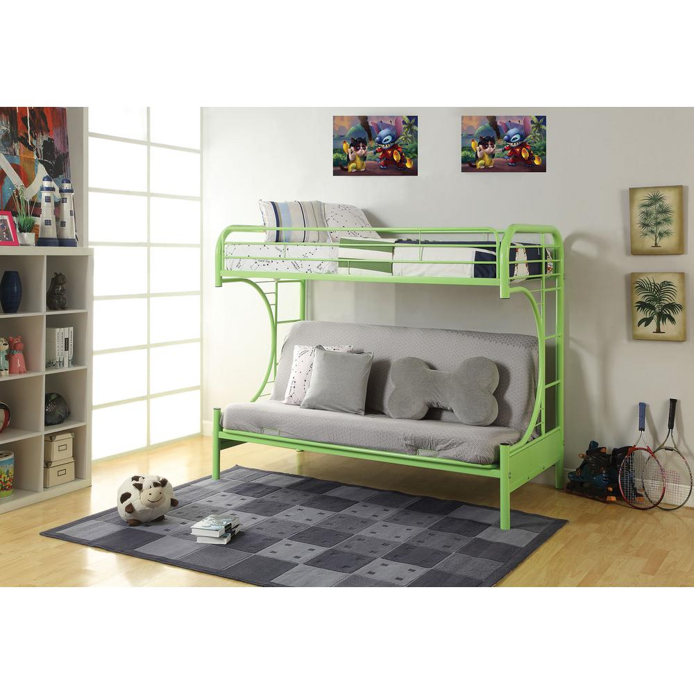 acme furniture eclipse twin over full metal bunk bed