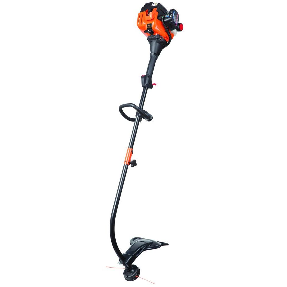 Remington 17 in. 25cc 2-Cycle Curved Shaft Attachment Capable Gas Trimmer