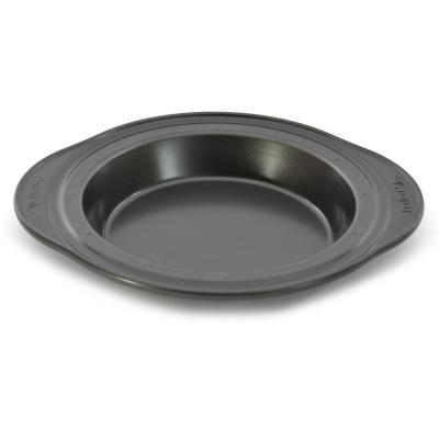 Perfect Slice 9 in. Carbon Steel Pie Pan with Slicing Tool