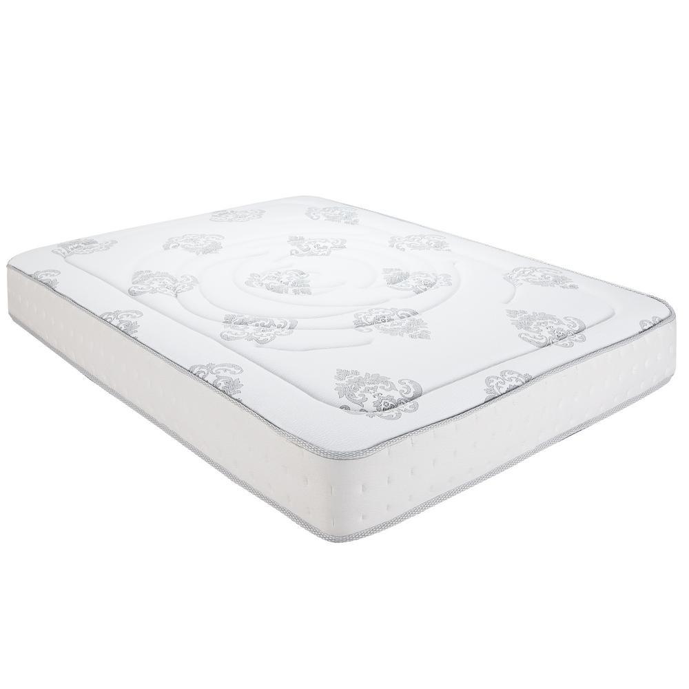Decker Full-Size 10.5 in. Memory Foam and Innerspring Mattress  sc 1 st  The Home Depot & Mattresses - Bedroom Furniture - The Home Depot Aboutintivar.Com