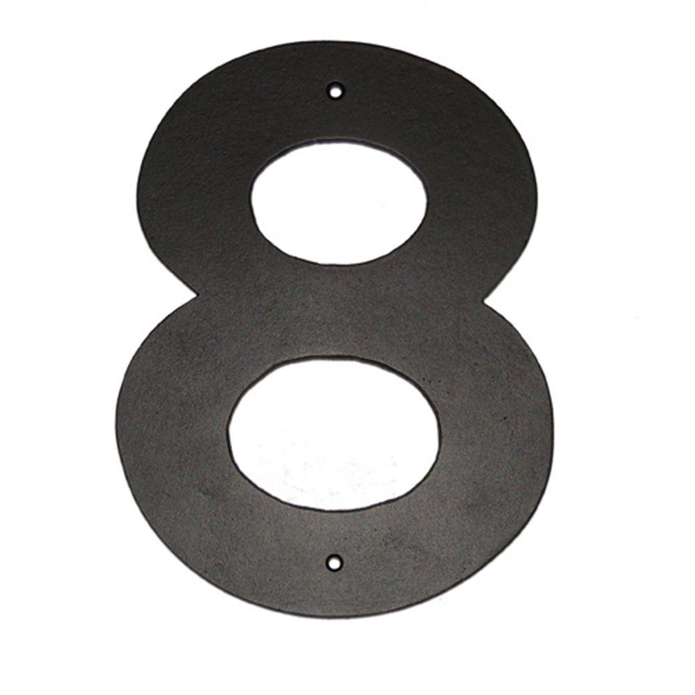 4 in. Helvetica House Number 8