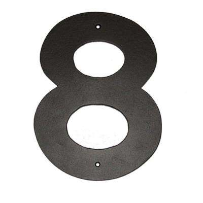 6 in. Helvetica House Number 8