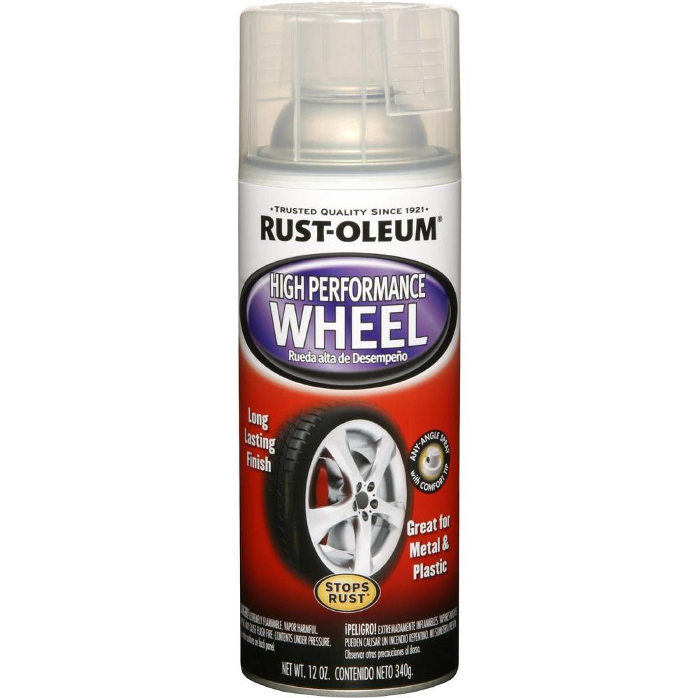 12 oz. High Performance Gloss Clear Wheel Spray Paint (6-Pack)