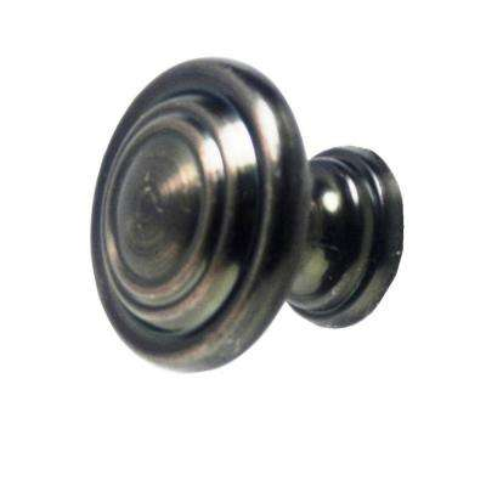 1-1/8 in. Cabinet Bronze Knob
