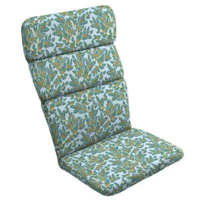Eugene Leaf Adirondack Chair Cushion