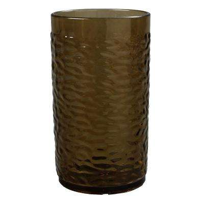 12 oz. SAN Plastic Pebble Optic Tumbler in Smoke (Case of 24)