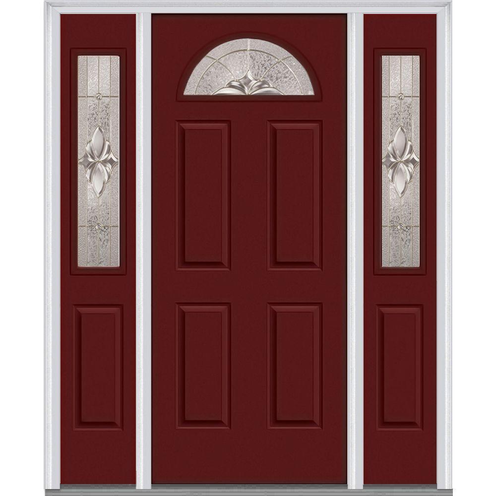 red front doors. Heirloom  Red Steel Doors Front The Home Depot