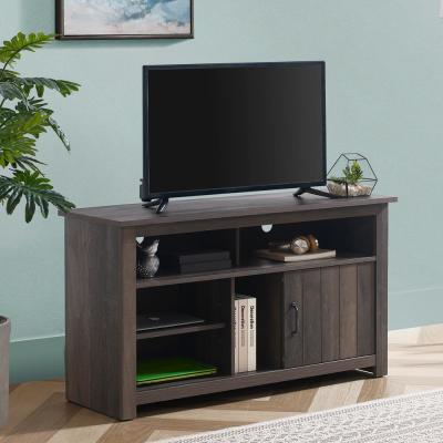 47.4 in. Dark Drift Wood TV Stand (Fits TVs up To 55 in.)