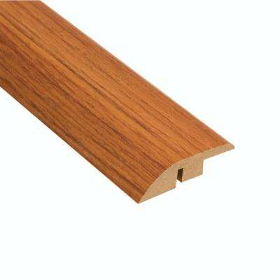High Gloss Alexander Oak 12.7 mm Thick x 1-3/4 in. Wide x 94 in. L Laminate Hard Surface Reducer Molding