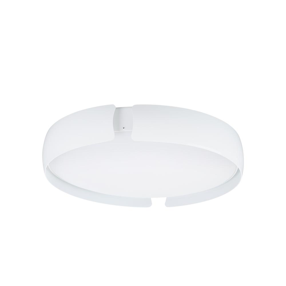 Lifo 22.4-Watt White Integrated LED Flushmount