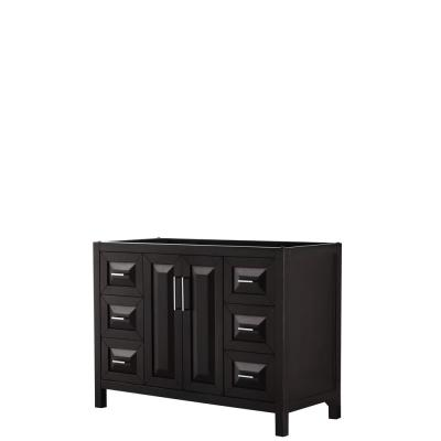 Daria 47 in. Single Bathroom Vanity Cabinet Only in Dark Espresso