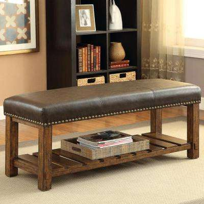 Emmet Medium Oak Bench