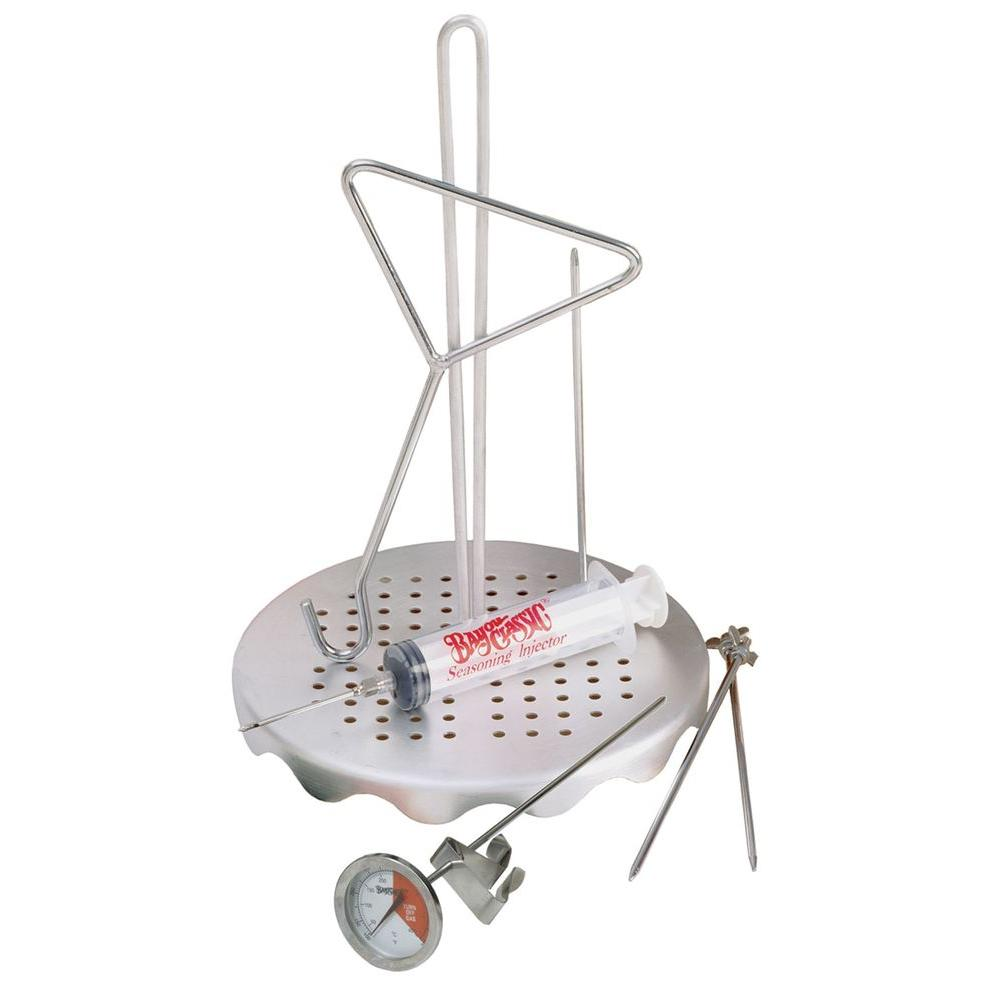 Bayou Classic Poultry Frying Rack Set