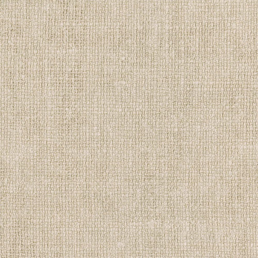 Cream Flax Texture Wallpaper Sample