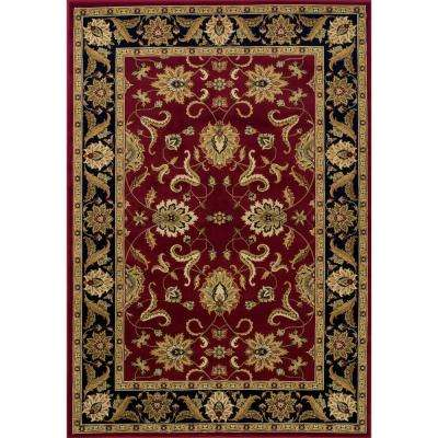 Vanguard 5 Traditional Red 3 ft. x 5 ft. Area Rug