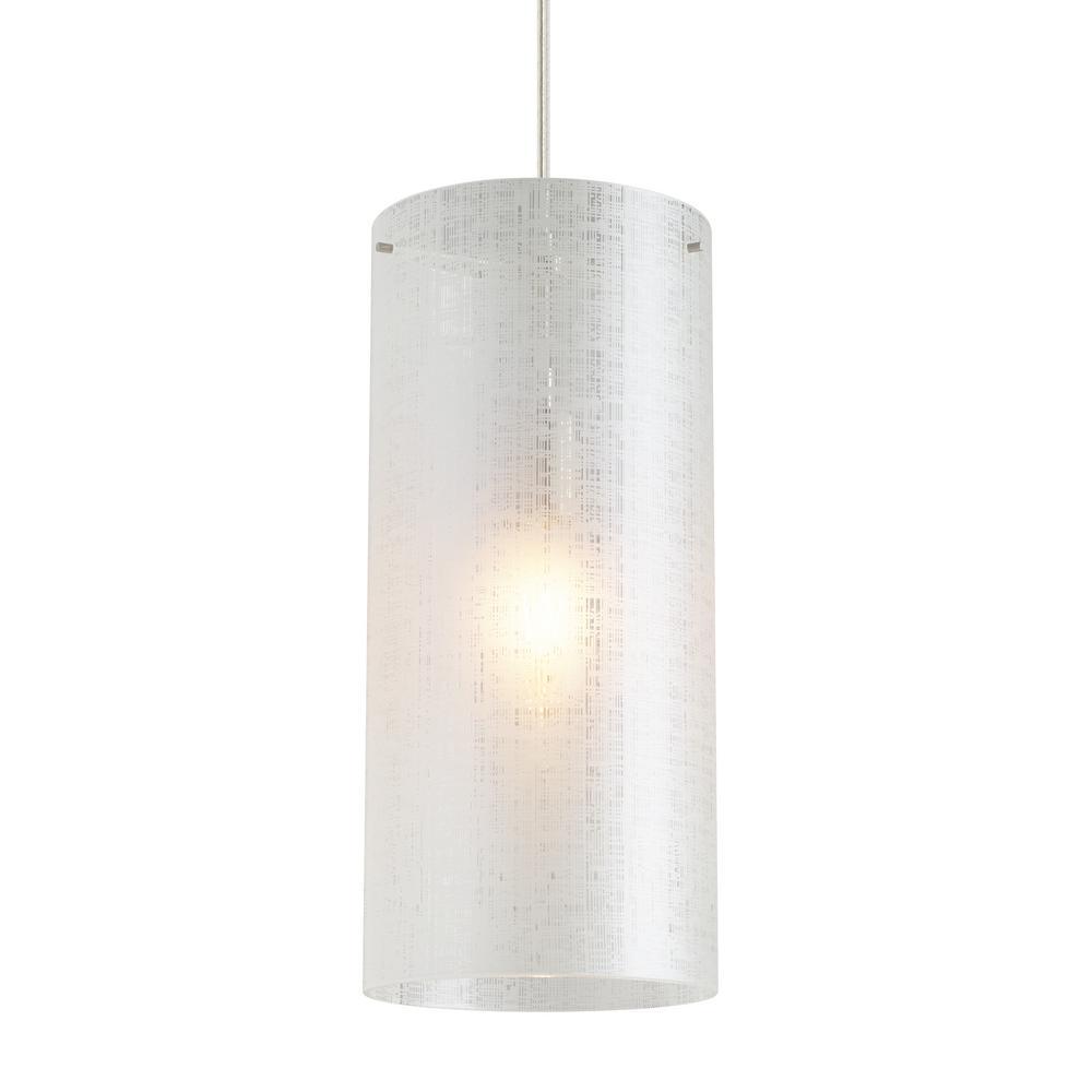 Lbl Lighting Vetra 1 Light Linen Pendant