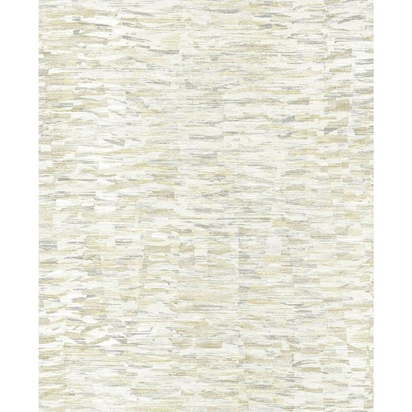A-Street 56.4 sq. ft. Nuance Yellow Abstract Texture Wallpaper 2793-24737