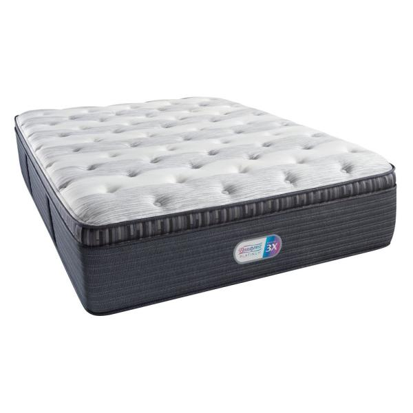 Beautyrest Platinum Haven Pines Plush Pillow Top Twin XL Mattress 700800110-1020