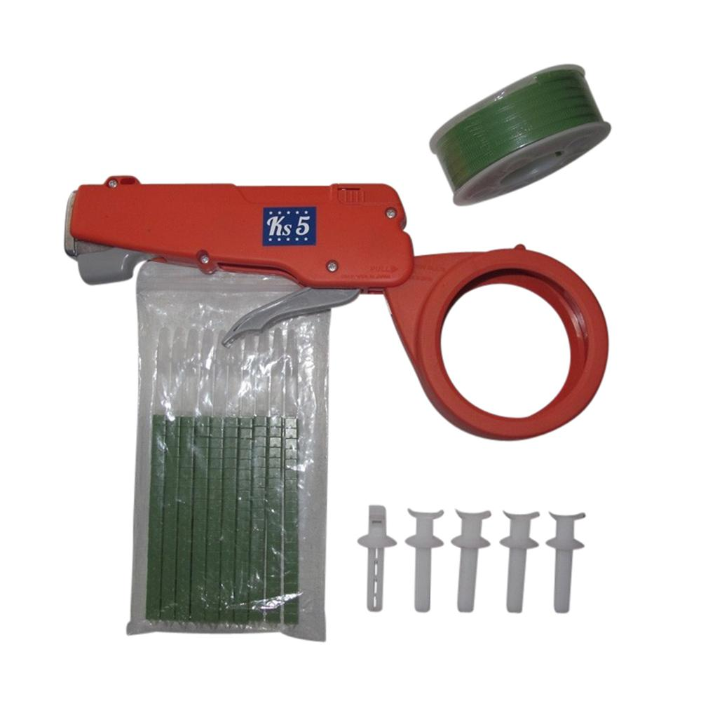 Zip Tie Gun >> Cable Tie Gun Complete Kit In Green