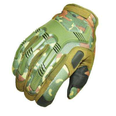 Zulal Impex Tyrex Military Special Force Tactical Large Camoflash Gloves