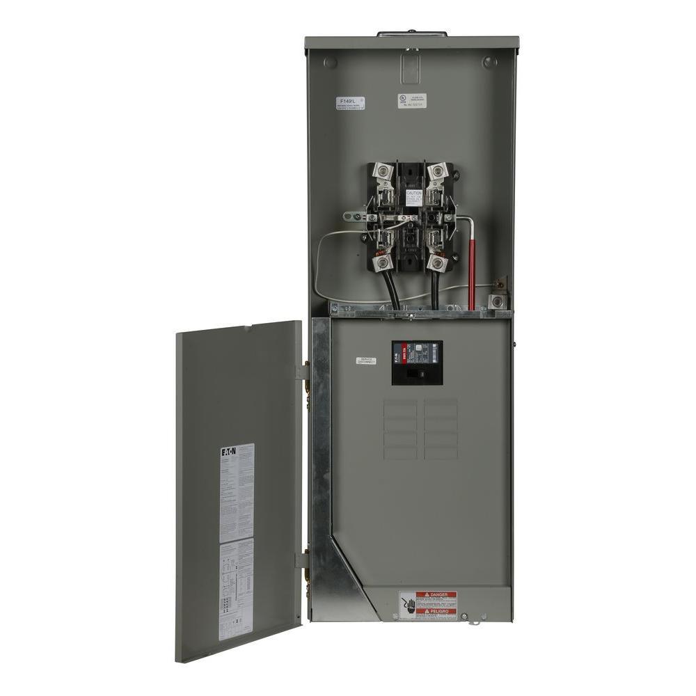 200 amp 8-space 16-circuit br type main meter breaker