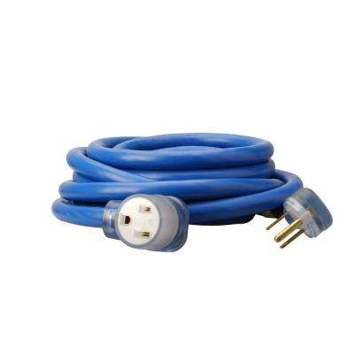 25 ft. 8/3 STW 6-50 Welder Extension Cord, Blue