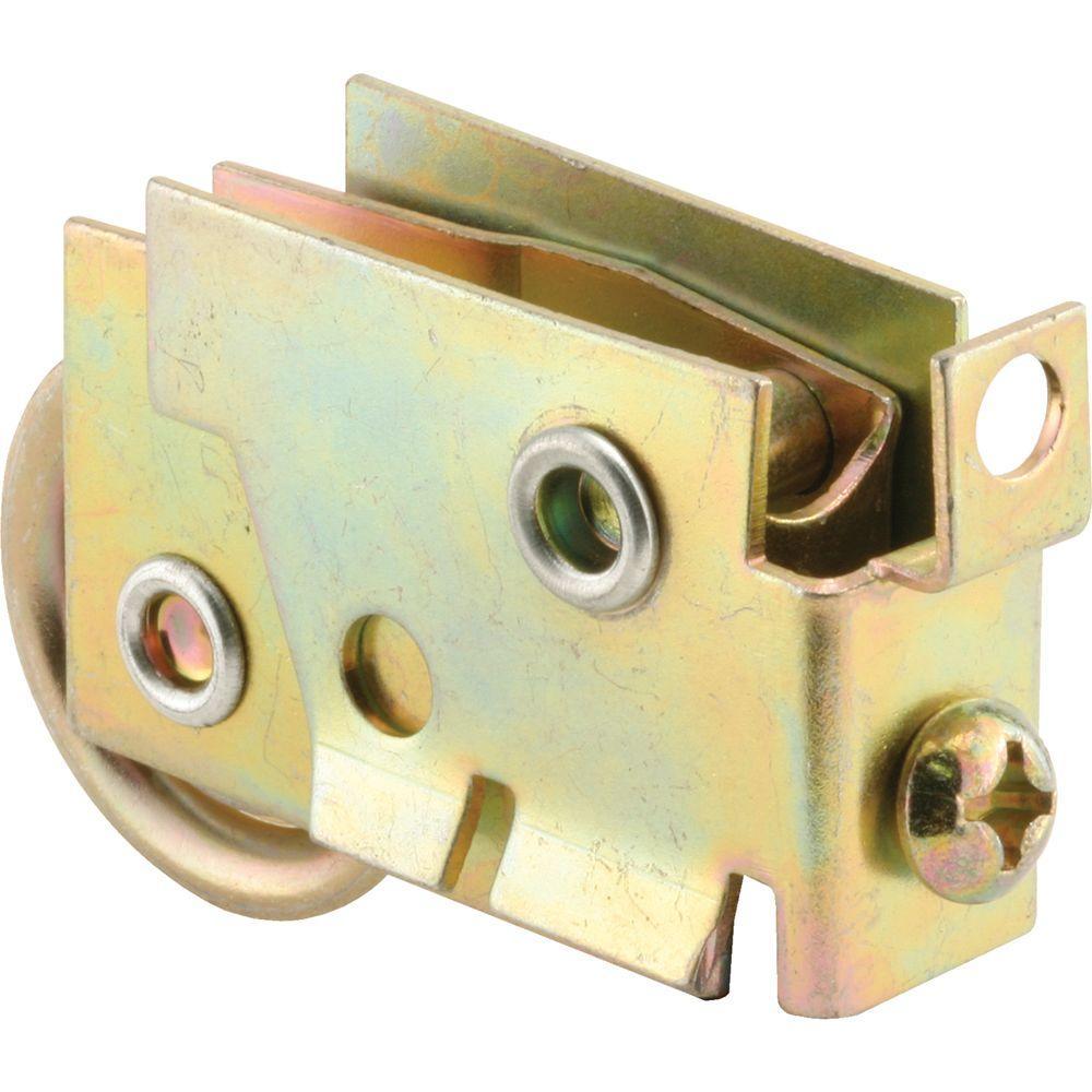 Mirror Door Roller Assembly, 1-1/8 in. Steel Ball Bearing