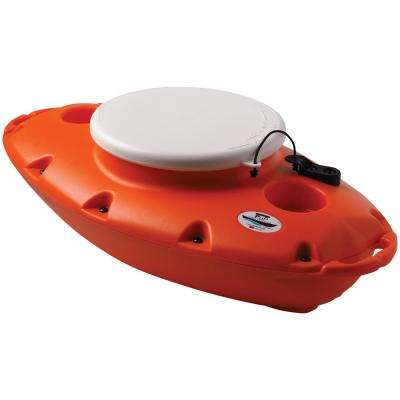 15 Qt. PuP Floating Cooler in Orange