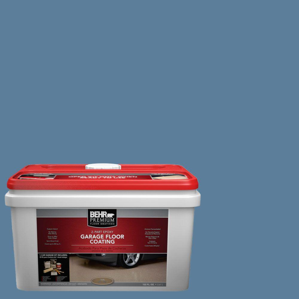 BEHR Premium 1-gal. #PFC-58 Alpine Sky 2-Part Epoxy Garage Floor Coating Kit